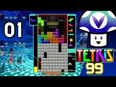 [Vinesauce] Vinny - Tetris 99 (part 1)