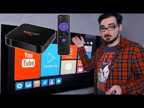 Медиаплеер с AliExpress за 2500, обзор MX10 PRO 6K