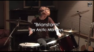 Arctic Monkeys Brianstorm Drum Cover