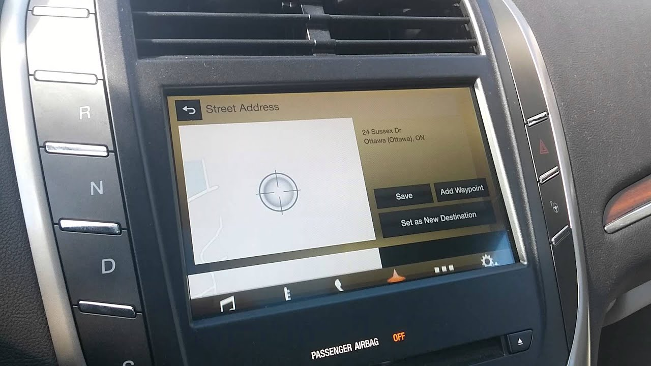 2016 Lincoln Mkc Sync 3 Navigation System