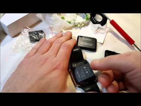 Fantime SW-08 Bluetooth Smartwatch Unboxing
