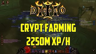 Diablo 3 - Crypt Farming 2250 Million XP/Hour