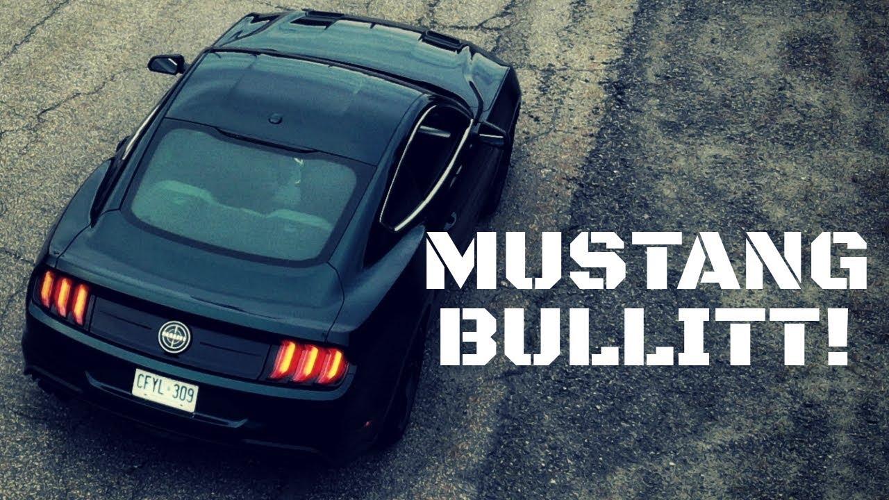 2019 Ford Mustang Bullitt Test Drive Review