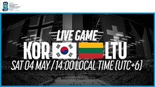 Korea vs. Lithuania | Full Game | 2019 IIHF Ice Hockey World Championship Division I Group A