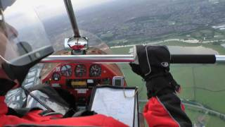 Microlight flight over Milton Keynes in a Pegasus Quantum from Sywell Aerodrome