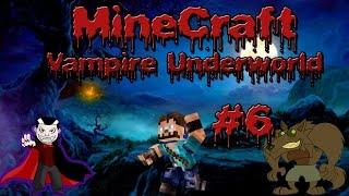 Minecraft| Vampire Underworld| Ep. 6| Zombie, Werewolf, Vampire Infection w/Drago