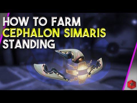 How To Farm Cephalon Simaris Standing - Warframe