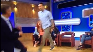 Jeremy Kyle gets Attacked and runs for his life! 😂