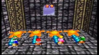 N64 マリオパーティ 4にんようミニゲーム『クッパふうせん』