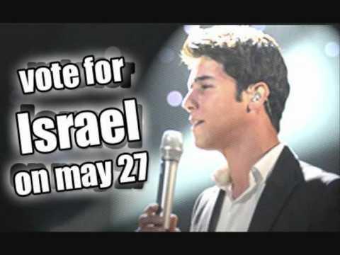 Eurovision 2010 Israel Official karaoke-Milim-Harel Skaat