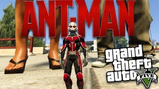 GTA 5 Mods - Marvel's Ant-Man Mod! Bringing the big guy packed in a...