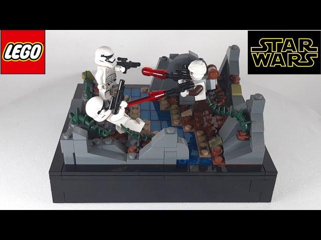 Lego Star Wars MOC - Dengar vs First Order Stormtrooper / Mini-MOC