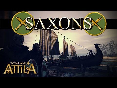 Total War Attila Factions - Saxons