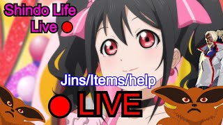 ( SENGOKU + CODE )🔴LIVE SHINDO LIFE ROBLOX - HELPING F ...