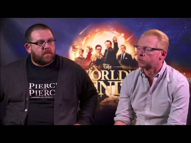 The Worlds End - Simon Pegg, Nick Frost & Edgar Wright: Complete Interviews
