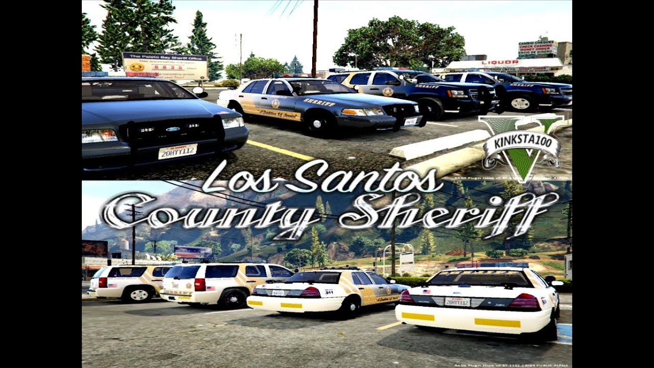 Gta 5 Los Santos County Sheriff Pack Gta V ELS Mods Part One