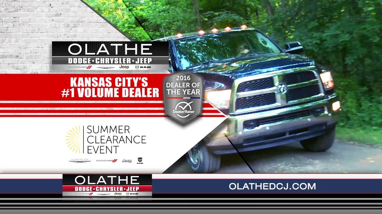 "Olathe Dodge Chrysler Jeep Ram ""Summer Clearance - Dealer of Year ..."