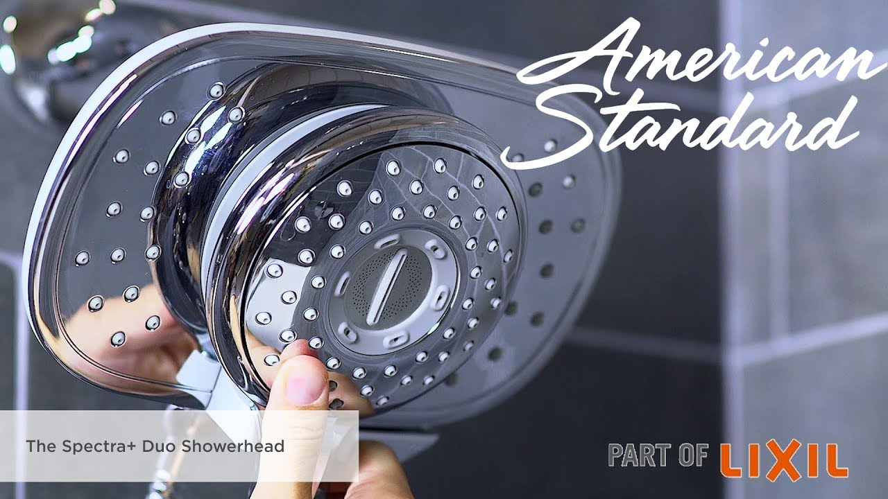 The Spectra+ Duo 2-in-1 Shower Head Features and Benefits - YouTube