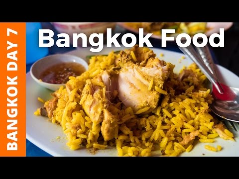 Bangkok Street Food For Breakfast at Silom Soi 20 - Bangkok