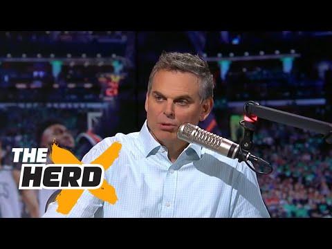 Colin Cowherd reacts to the death of Aaron Hernandez   THE HERD