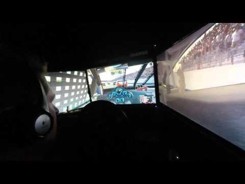 NASCAR Peak AntiFreeze Series at New Hampshire in car camera