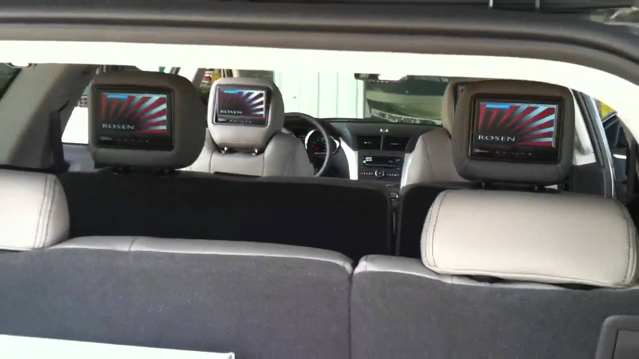2012 Chevy Traverse Custom Leather & Video - YouTube