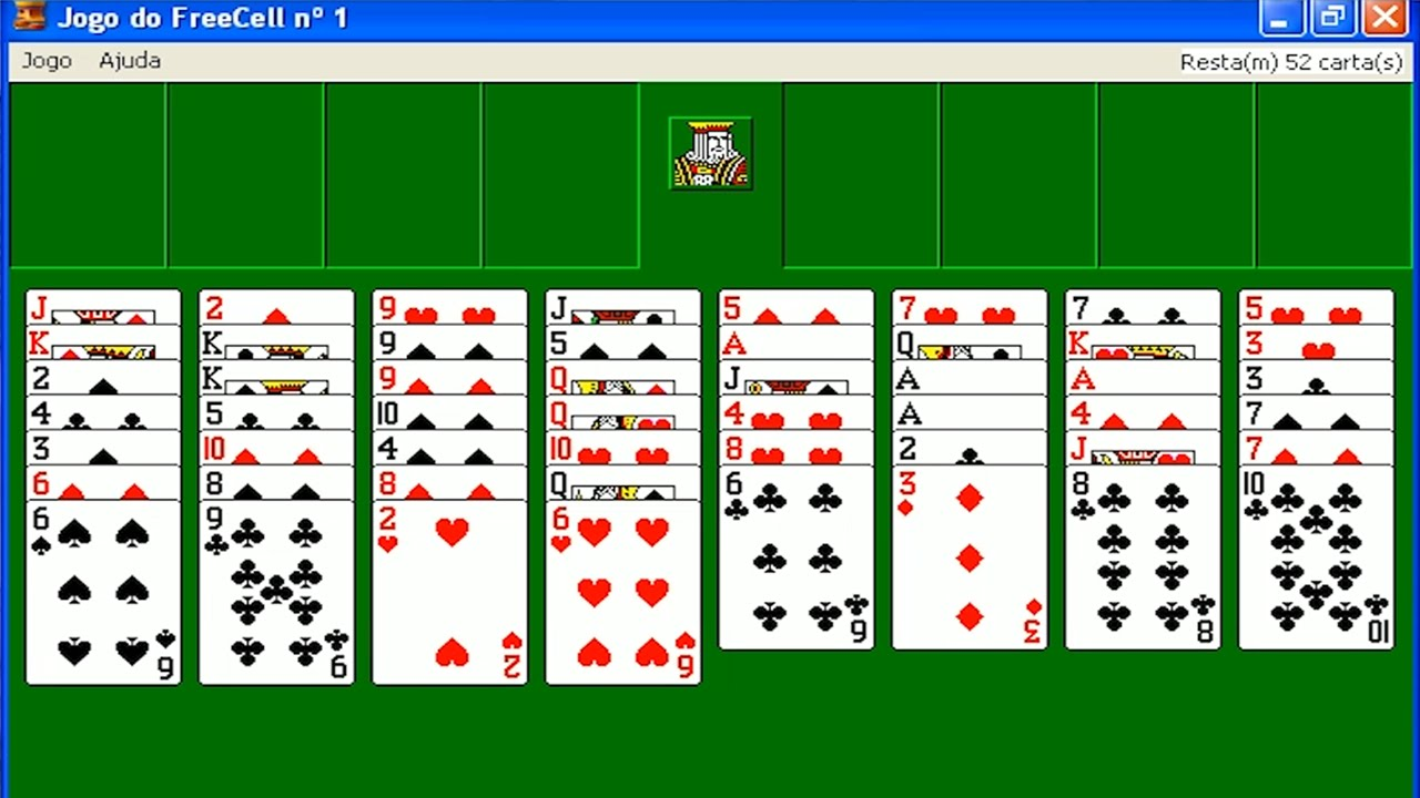 Freecell Card Game Windows Xp Edition Youtube