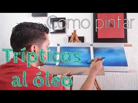 C mo pintar al leo en tr pticos t cnica que quiz no conoc as f cil youtube - Como pintar cuadros faciles ...