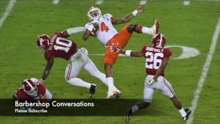 Clemson Deshaun Watson is TOUGHER THAN Odell Beckham n Cam Newton will ever BE!