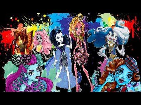 Родители Новых персонажей Monster High!!!