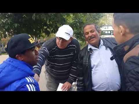 Ex-Homeless Preacher - In Courage Muslims - Speakers Corner Hyde Park London 9-10-16.