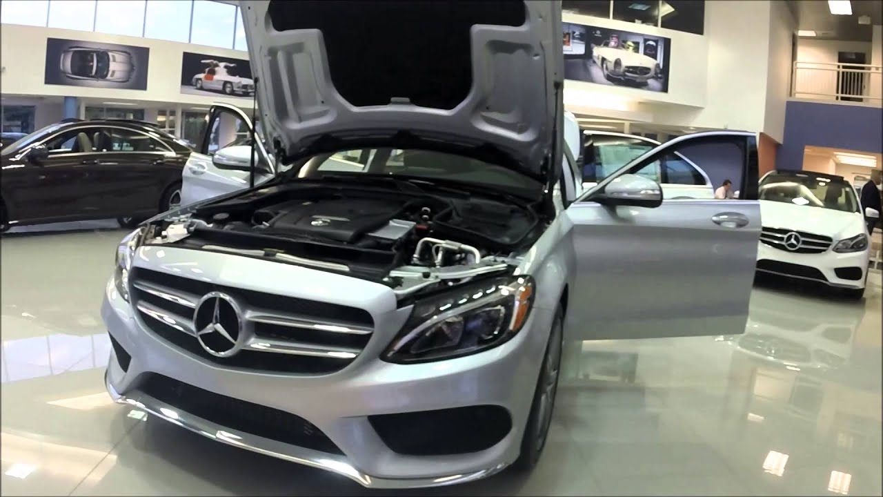 2015 mercedes benz c300 4matic sport sedan youtube for 2015 mercedes benz c300 4matic