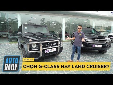 Hơn 7 tỷ đồng, chọn Mercedes G-Class hay Toyota Land Cruiser? |G-Class vs. Land Cruiser|
