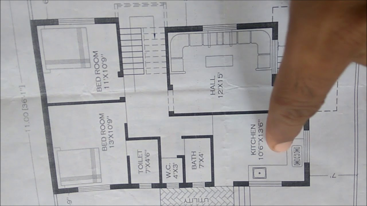 Middle Class Family House Plan Youtube
