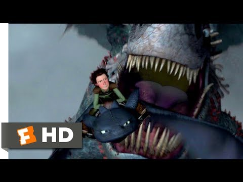 How to Train Your Dragon (2010) - Dragon vs. Dragon Scene (9/10) | Movieclips