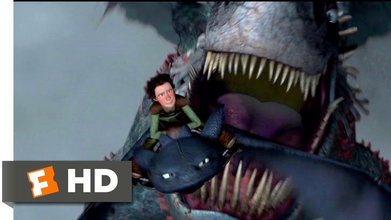 How To Train Your Dragon 2010 Dragon Vs Dragon Scene 9 10 Movieclips Youtube