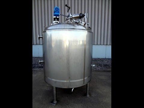Used- DCI Reactor, 500 Gallon - stock # 45896001