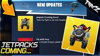 FORTNITE IS ADDING JETPACKS.... Should We Worry About This? (Fortnite Battle Royale Jetpack Update)