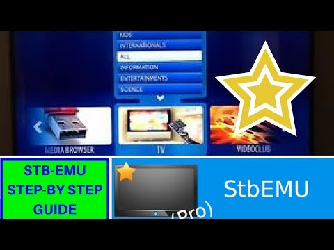 Stbemu setup guide HOW TO configuration 2018 step by step