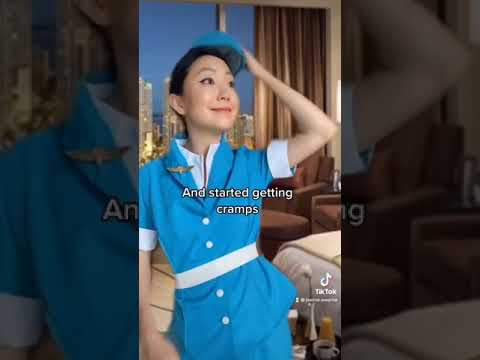 TRUE STORY that happened to a flight attendant at the airline I worked for! 😱 #shorts
