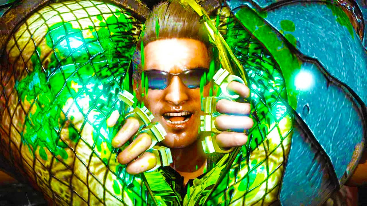 Johnny Cage Here's Johnny Fatality On