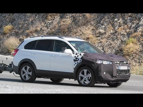 2015 chevrolet captiva opel antara facelift spied photo gallery youtube. Black Bedroom Furniture Sets. Home Design Ideas