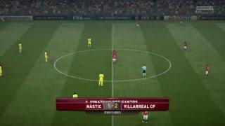 Video Gol Pertandingan Gimnastic de Tarragona vs Villarreal