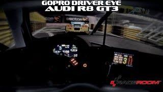 Gopro Driver Eye - Audi R8 GT3 @ Macao - Raceroom
