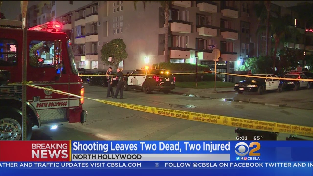 2 Dead, 2 Wounded In North Hollywood Shootout