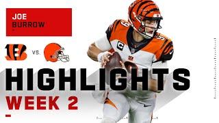 Joe Burrow Dials It Up w/ 316 Passing Yds & 3 TDs | NFL 2020 Highlights