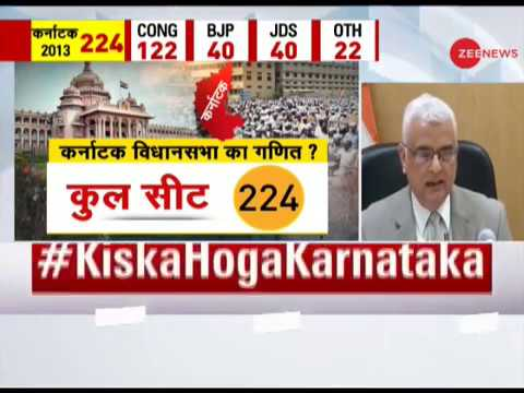 Watch: Chief Election Commissioner OP Rawat briefing on Karnataka Assembly Election