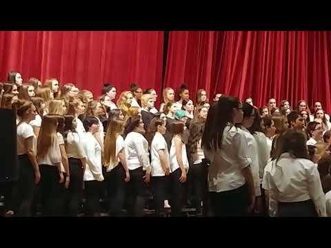 Tiverton Middle School 5th-8th grade and Tiverton High School 9th-12th grade Chorus: La Musica