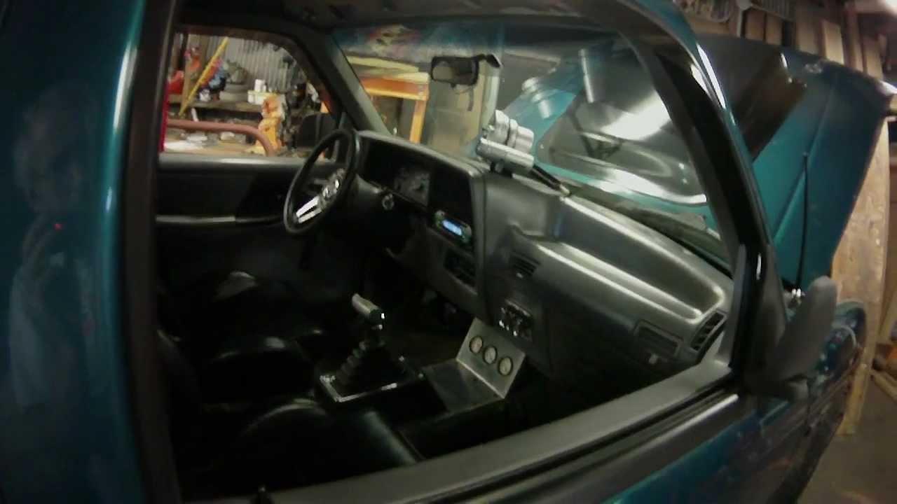 1994 302 V 8 Swap Ford Ranger Youtube