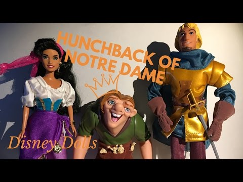 Disney's The Hunchback of Notre Dame Doll Toy Teview and Unboxing